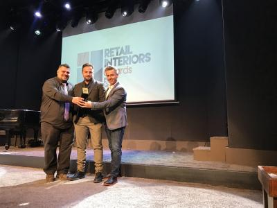GOLD BEST INTERIOR DESIGN AWARD ΓΙΑ ΤΗΝ ΕΤΑΙΡΕΙΑ GAGOS DESIGN !!!